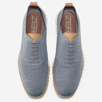 针织的布洛克雕花:COLE HAAN 推出 ZeroGrand Stitchlite 休闲鞋