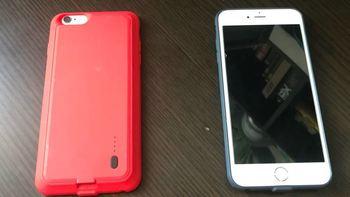 iPhone 6P老机满血复活 再战2年:ROCK P2背夹移动电源 2800mah
