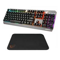 猎鹰家族不断壮大:GIGABYTE 技嘉 发布 AORUS K7机械键盘 和 AMP 300 鼠标垫