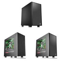 MATX紧凑方案:Thermaltake 曜越 发布 Versa H18 / H17系列 中塔机箱